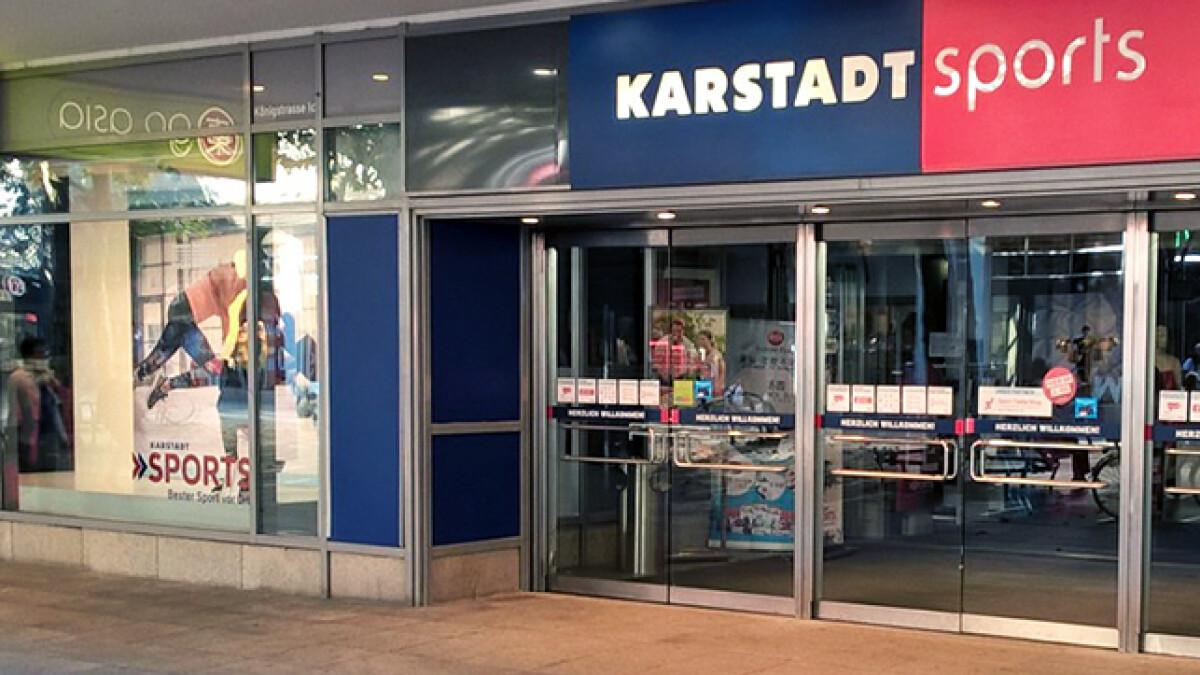 0141c4f735 Karstadt Sports zieht in Stuttgart um - sazsport.de