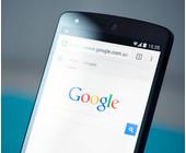 Google auf dem Smartphone
