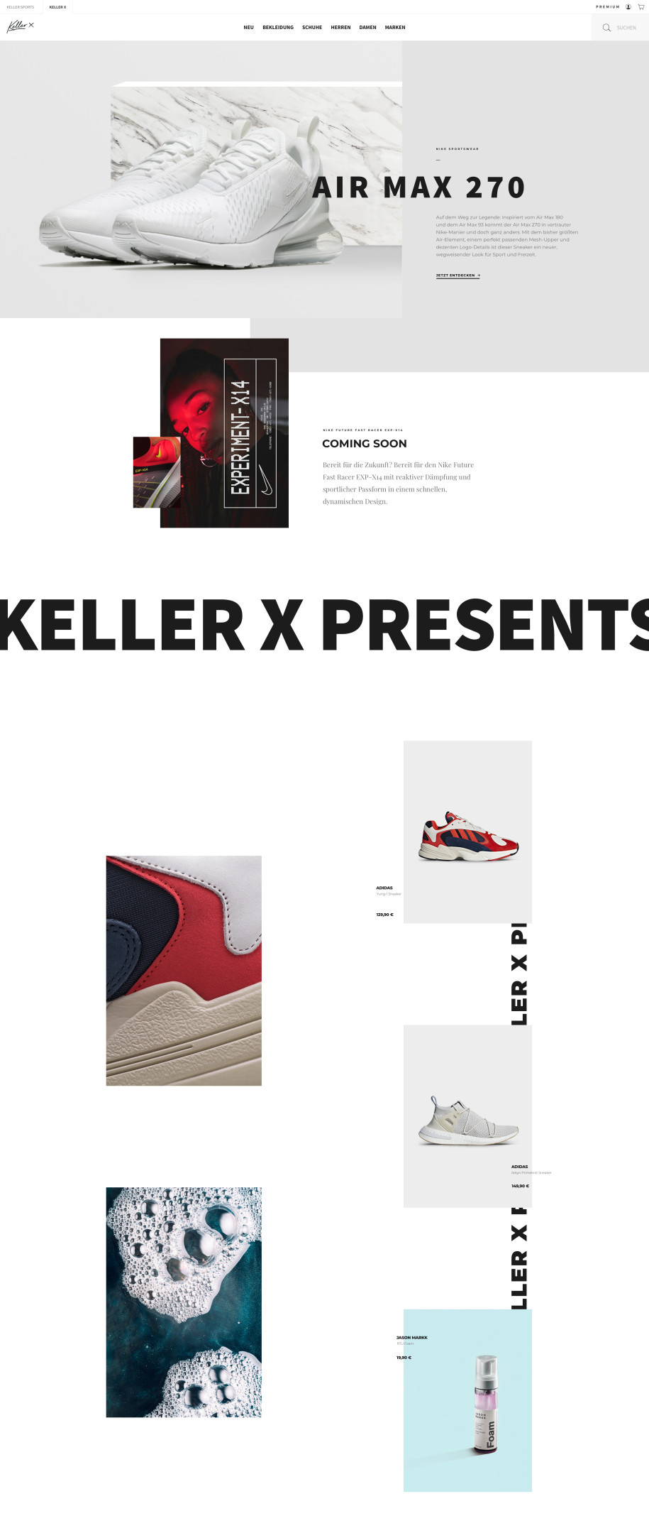 Keller Sports launcht die Lifestyle-Plattform Keller x - sazsport.de