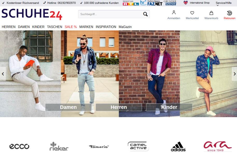 Schuhe24 kooperiert mit Otto - sazsport.de